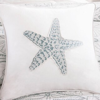 Harbor House Maya Bay Cotton Square Throw Pillow