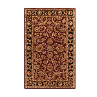 Hand-Tufted Ollie Traditional Border Accent Rug (2' x 3') - 2' x 3'