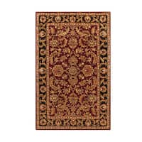 Hand-Tufted Ollie Traditional Border Accent Rug - 2' x 3'