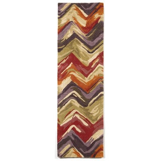 Liora Manne Painterly Multi Indoor Rug (2'3 x 8')