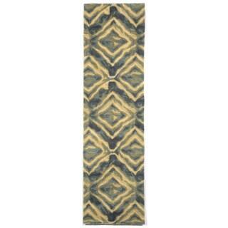 Liora Manne Diamonds Blue Indoor Rug (2'3 x 8')