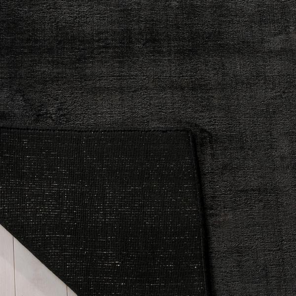 Safavieh Handmade Mirage Modern Tonal Black Viscose Rug - 8' x 10'