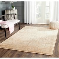 Safavieh Hand-knotted Tangier Ivory/ Beige Wool/ Jute Rug - 5' x 8'
