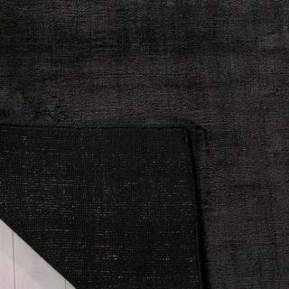 Safavieh Handmade Mirage Modern Black Viscose Rug (9' x 12')