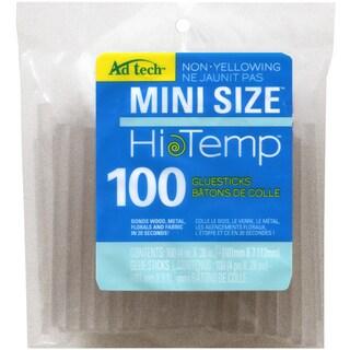 "High Temp Mini Glue Sticks-.28""X4"" 100/Pkg"
