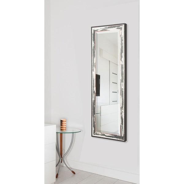 Full Body Wall Mirror american made rayne rustic shoreline 26 x 64-inch full body vanity