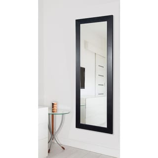 American Made Rayne Modern Black 25.5 x 63.5-inch Full Body Mirror