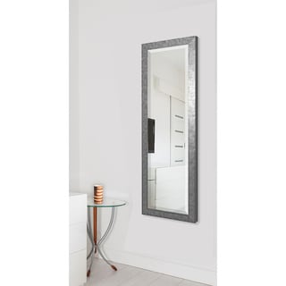 American Made Rayne Silver Grain 24 x 62-inch Full Body Mirror