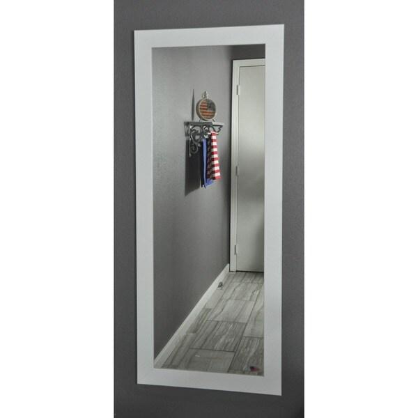 Shop American Made Rayne White Satin 26 X 64 Inch Full