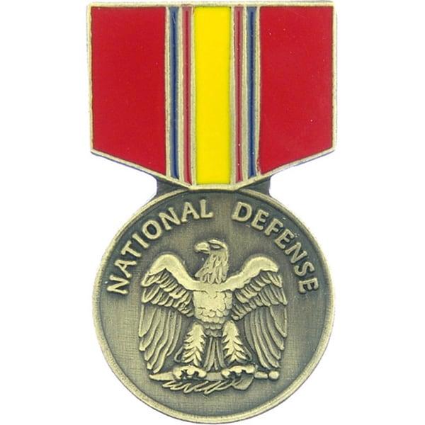 National Defense Service Medal Pin