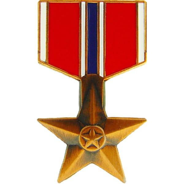 Bronze Star Medal Pin