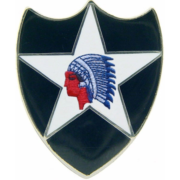 United States Army 002nd Infantry Division Pin