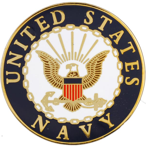 United States Navy Logo Pin