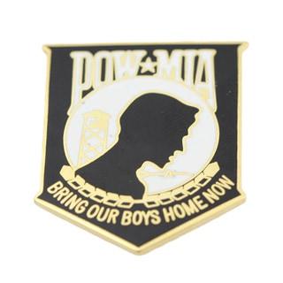 POW MIA Bring Our Boys Home Now Pin