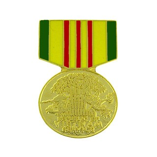Republic of Vietnam Service Medal Pin