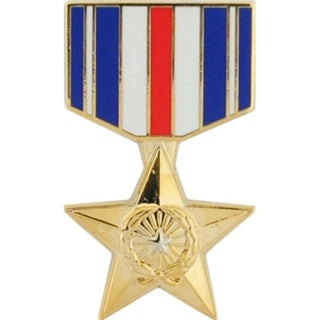 United States Armed Forces Silver Star Medal Pin
