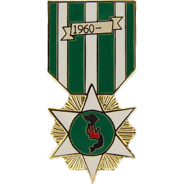 Republic Of Vietnam Campaign Medal Pin