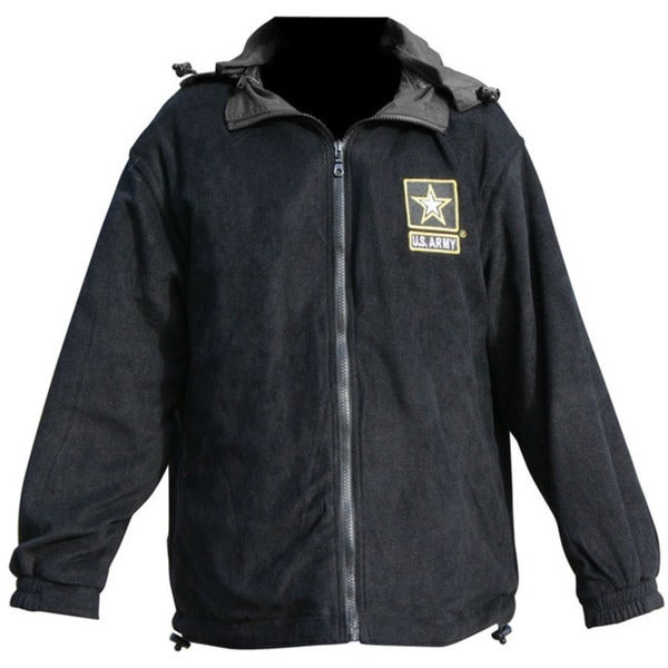 US Army Logo Detachable and Reversible Jacket