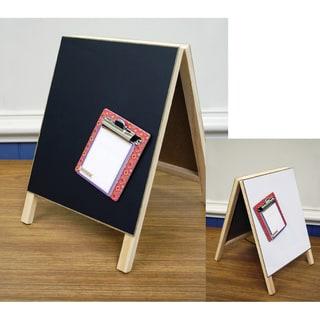 "Dry Erase Magnetic Chalkboard Easel-8""X12"""