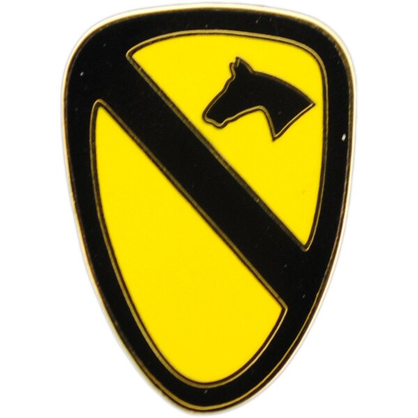 United States Army 001st Enamel Cavalry
