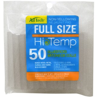 "High Temp Glue Sticks-7/16""X4"" 50/Pkg"