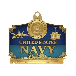 US Navy Military Keychain