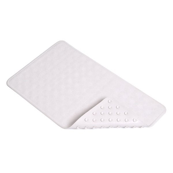 "Con-Tact Brand Circles Rubber Bath Mat 24"" x 14"" (Set of 4)"