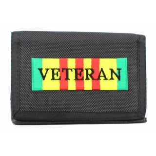 Vietnam Veteran Heavy Duty Nylon Wallet
