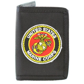 US Marine Corps Trifold Nylon Wallet