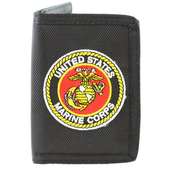 US Marine Corps Trifold Nylon Wallet