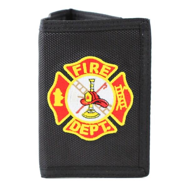 Fire Department Logo Trifold Wallet