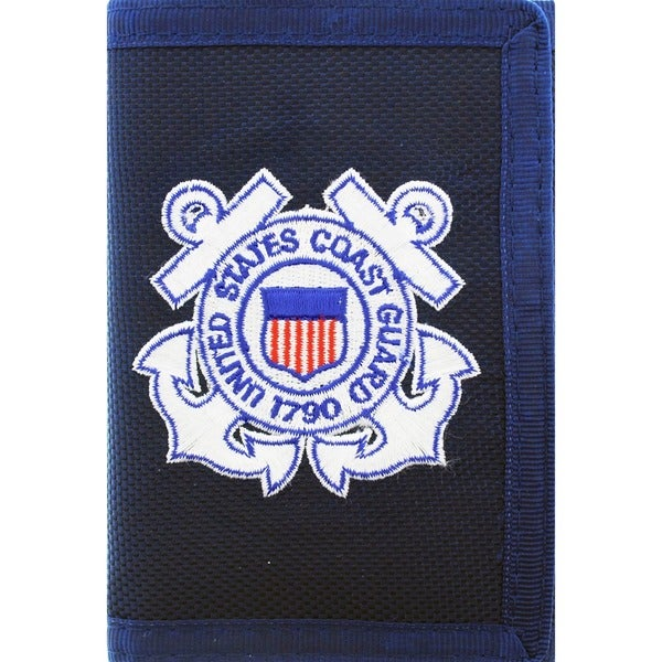US Military Coast Guard Trifold Wallet
