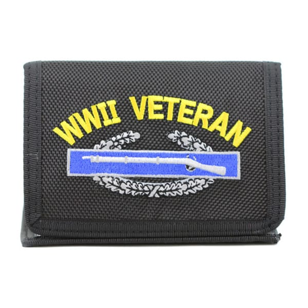 World War II Veteran Trifold Nylon Wallet