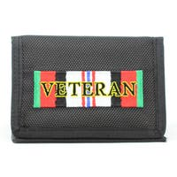 Enduring Freedom Veteran Trifold Nylon Wallet