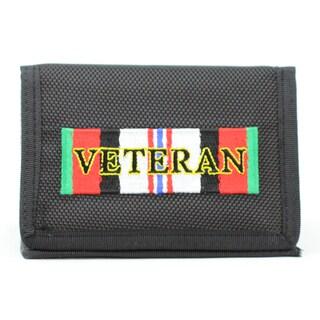 Enduring Freedom Veteran Trifold Nylon Wallet