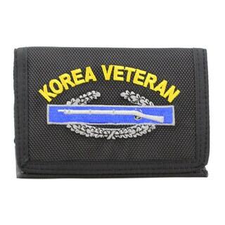 Korea Veteran Trifold Nylon Wallet