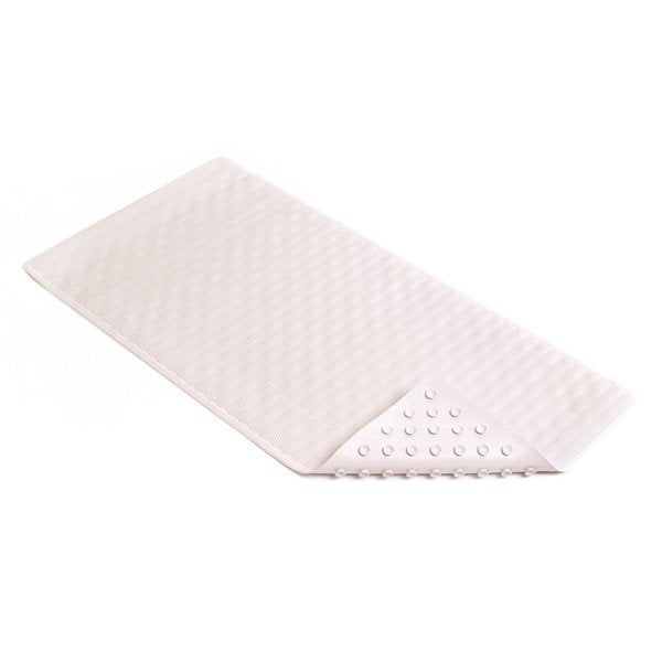 "Con-Tact Brand Wave Rubber Bath Mat 36"" x 18"" (Pack of 4)"