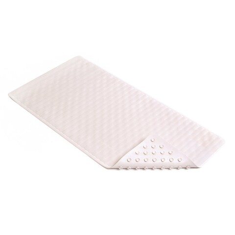 """Con-Tact Brand Wave Rubber Bath Mat 36"""" x 18"""" (Pack of 4)"""