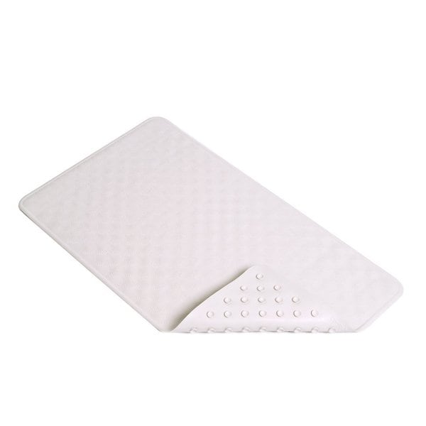 Con-Tact Brand Seashell Rubber Bath Mat 28'' x 16'' (Set of 4)