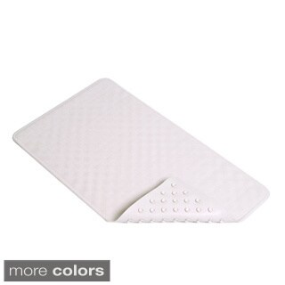 Con-Tact Brand Seashell Rubber Bath Mat 28'' x 16'' (Set of 4) (2 options available)