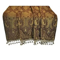 Sherry Kline Luxury China Art Brown Throw