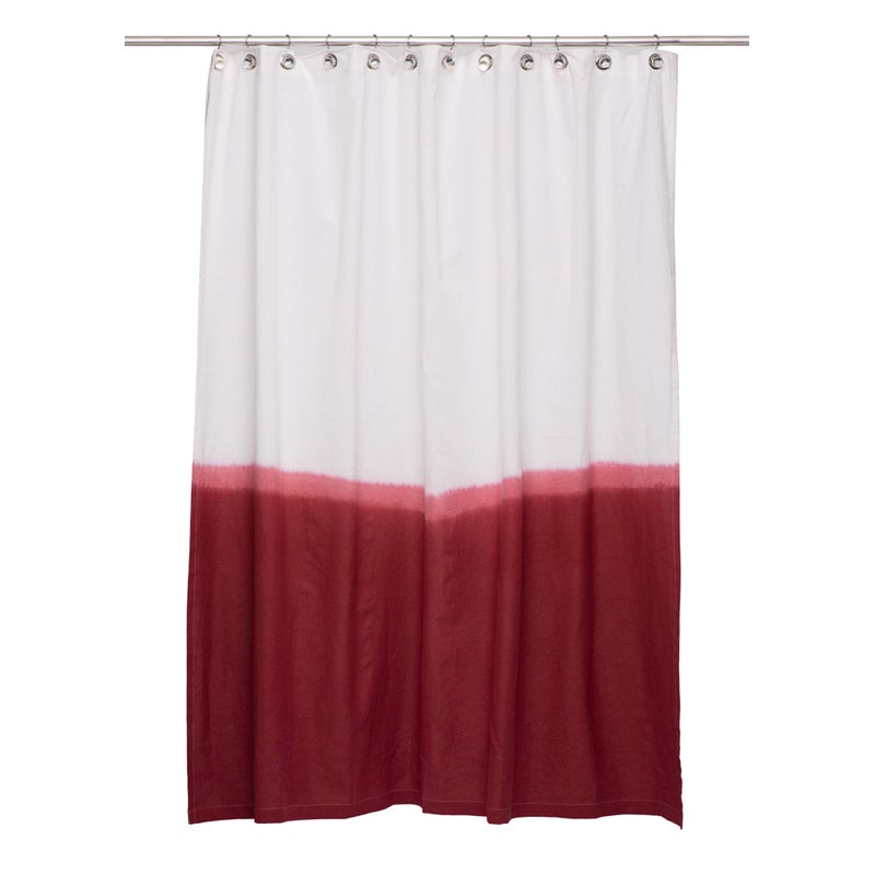 Dip Dye Shower Curtain (2 Options Available)