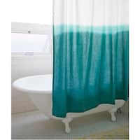 Dip Dye Shower Curtain