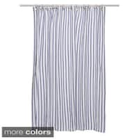 p curtain woven multi item a striped hei shower blue fmt wid gray target this threshold about