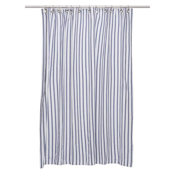 Thin Stripe Shower Curtain