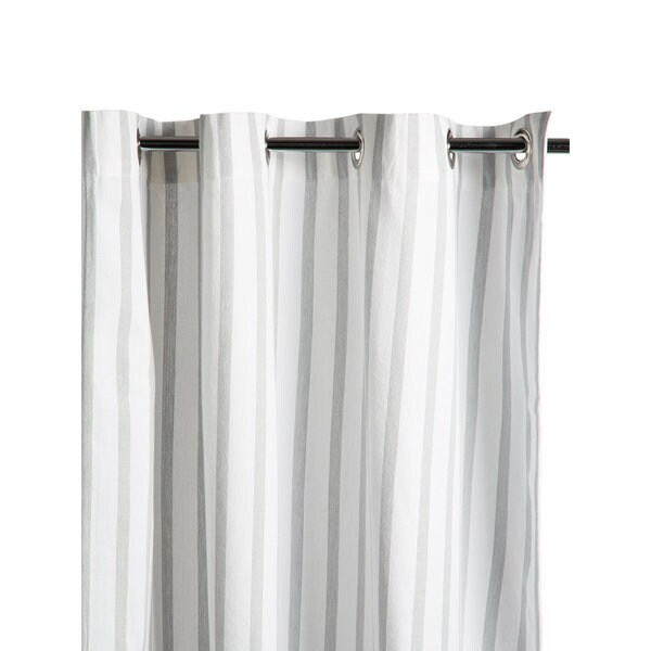 black and white striped shower curtain. Thin Stripe Shower Curtain  Free Shipping Today Overstock com 16650103
