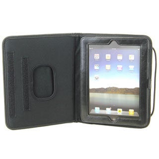 Black Polyester iPad Case