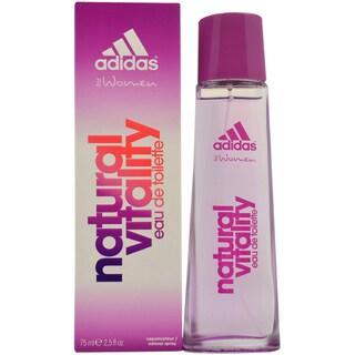 Adidas Natural Vitality Women's 2.5-ounce Eau de Toilette Spray