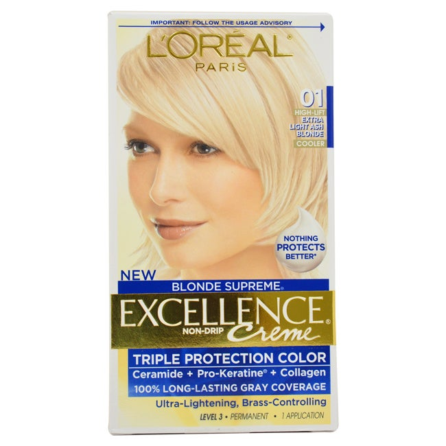 L'Oreal Paris Excellence Creme Blonde (Yellow) Supreme 01...