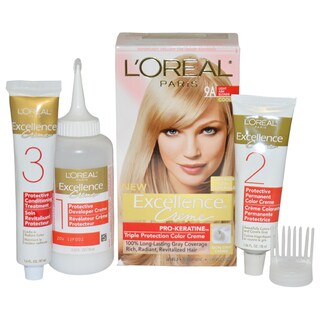 L'Oreal Paris Excellence Creme Pro Keratine # 9A Light Ash Blonde Cooler